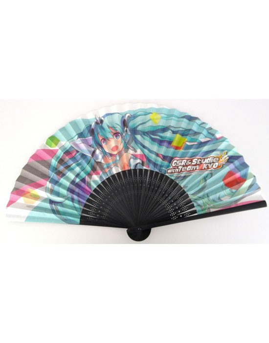 Racing Miku 2012 Original Folding Fan