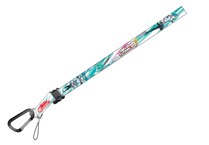 Racing Miku 2013 Ver. Neck Strap
